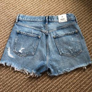 Agolde Shorts - Jaden High Rise Cut Off Agolde